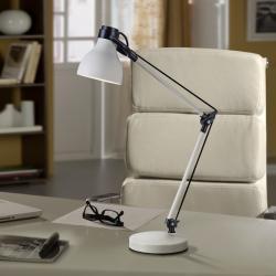 Neo Sobremesa LED 60W 33x60x14cm - Blanco y negro
