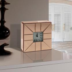 Rose Reloj de sobremesa 25x25x6cm - Cobre
