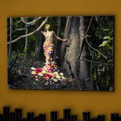 Edén Fotografía 120x80x1cm - Cristal brillo