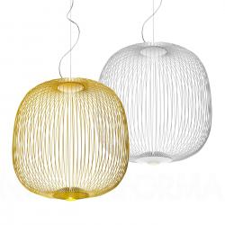 Spokes 2 Large Lámpara colgante regulable LED 38,2W Amarillo