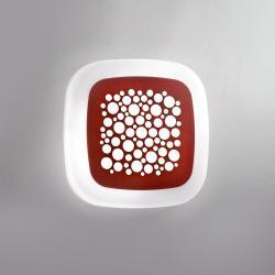 Pop Plafón LED 2xE27 12W Granate
