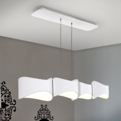 LAMPARA 4L LED·LIDIA·BLANCO