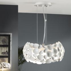 Narisa Lámpara colgante Ø32 3xG9 LED 6W Blanco