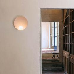 Musa Lámpara Pared 1 × LED 4,5W 350 -Lacado blanco mate