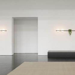 Palma Lámpara Pared 2 × Led - Lacado blanco mate