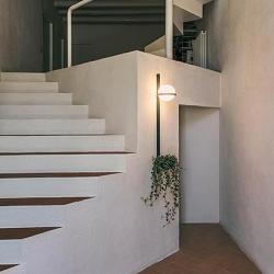 Palma Lámpara Pared 6 × Led - Lacado blanco mate