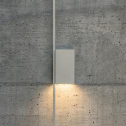 Structural 2620 Gray L2 Wall Lamp. 2 × LED PLATE 24V 6W