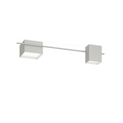 Structural 2640 Gray L2 ceiling lamp. 1 × LED PLATE 24V 9W