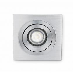 Plano 1 Lamp Recessed GU10 8W Grey