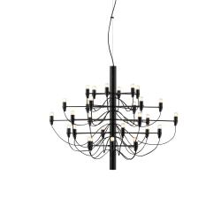 2097/30 (frosted bulbs) Negro Opaco 72cm
