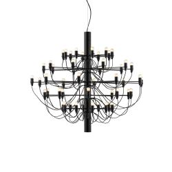 2097/50 (frosted bulbs) Negro Opaco 88cm