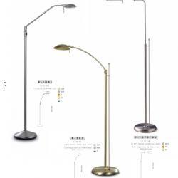 lámpara of Floor Lamp Halogen Niquel