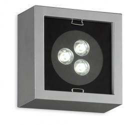 Esferic LEDS Wall Lamp 3x1W Chrome