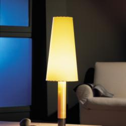 Basica (Structure) Table Lamp Abedul and Niquel