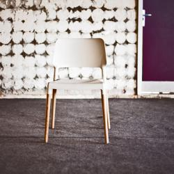Belloch chair polipropileno and beech (indoor) white