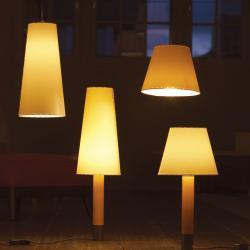 Sistema Sisisí MT1 (Accessory) lampshade for Pendant Lamp - Cartulina beige cosida