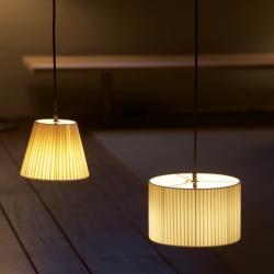 Sistema Sisisí PT1 (Accessory) lampshade for Pendant Lamp 20cm - Cartulina beige cosida