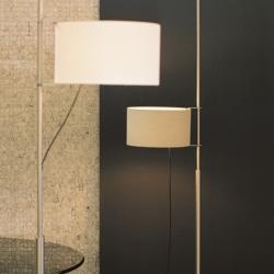 TMD lámpara de Pie (Estructura) Niquel