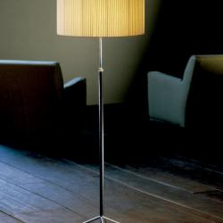 Pie of Salon G2 (Accessory) lampshade for lámpara of Floor Lamp 45x27cm - Cinta en Crude