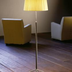 Pie of Salon G1 (Accessory) lampshade for lámpara of Floor Lamp 36x32cm - Cartulina beige cosida