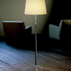 Pie of Salon G3 (Accessory) lampshade for lámpara of Floor Lamp 28x27cm - Cinta en Crude