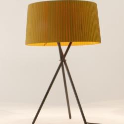 Tripode G6 (Accessorio) Paralume per Lampada da tavolo 62cm - Cinta mostaza raw colore