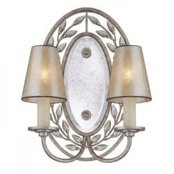 Wall Lamps Wall Lamp indoor Silver Oxido 2xE14 60W