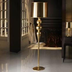 Lena lámpara of Floor Lamp 1L Gold