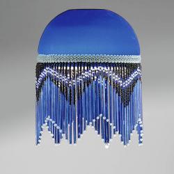 Accessoire abat-jour Fleco Bleu Sombre 13,8cm