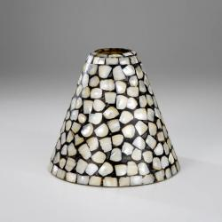 lampshade conical Nácar