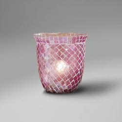 lampshade mosaic dome Rosa