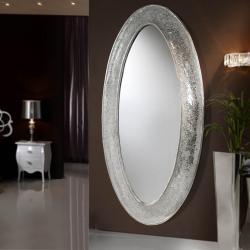 Gaudi mirror oval Vestidor 218x110cm - Silver Leaf