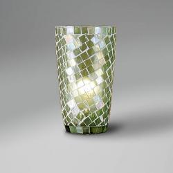 Accesorio tulipa Mosaico Cónica Verde