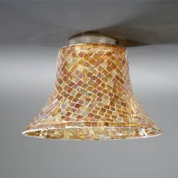 lampshade mosaic Glass orange