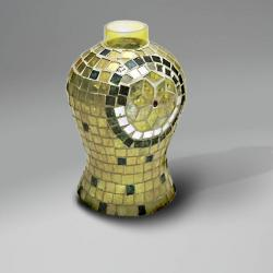 lampshade mosaic Espejitos Yellow