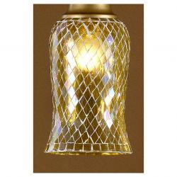 lampshade mosaic Glass amarilla