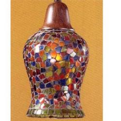 Lluvia Pendant Lamp 2L oxide forge + lampshade various Colors