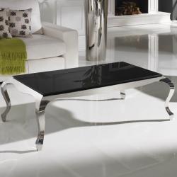 Cristal negro mesa Mod 820810
