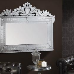 Adriano mirror Silver Leaf