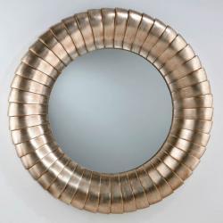 miroir Ronde Feuille d´argent