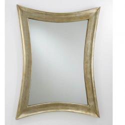 miroir coins stylisés Feuille d´argent