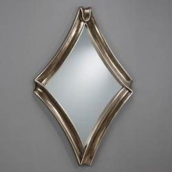 miroir Rombo Argent Antigua Grand