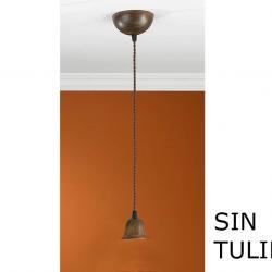 Lluvia Pendant Lamp 1L oxide forge