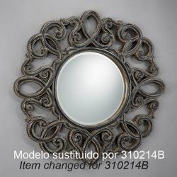miroir Ronde projet de cadre