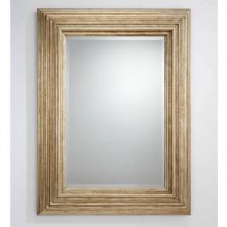miroir rectangulaire Argent âgé