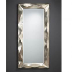 Alboran mirror rectangular Framework Volumetrico Silver Leaf aged