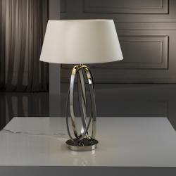 ovalos Table Lamp LED 60W Niquel