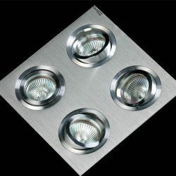 Luxor Recessed 4L Aluminium