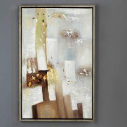 Oleo Abstracto Pastel II con marco