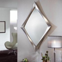 miroir Rombo Feuille d´argent